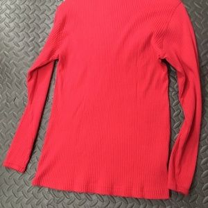 Hunt  Club Tops - Hunt Club Small Petite Long Sleeve Red